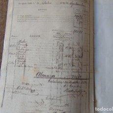 Militaria: DOCUMENTOS TERCIO DE LA GUARDIA DE LA ISLA DE CUBA DIFERENTES AÑOS DEPOSITO DE EMBARQUE LA HABANA. Lote 143286438