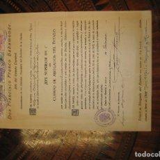 Militaria: FRANCISCO FRANCO BAHAMONTE ,1943 NOMBRAMIENTO DE JEFE SUPERIOR 1º , CUERPO DE ABOGADOS DEL ESTADO. Lote 144533958