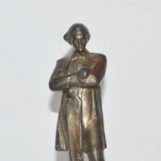 Militaria: FIGURA NIKOLÁI CHERNYSHEVSKI.MADE IN URSS.METAL. Lote 145267422