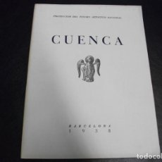 Militaria: 1938 CUENCA FOLLETO GUERRA CIVIL PROTECCION DEL TESORO ARTISTICO NACIONAL . Lote 146273450