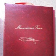 Militaria: FUNDACION FRANCISCO FRANCO - MANUSCRITOS DE FRANCO.. Lote 146353418