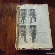 Militaria: HUELGA 1917:PROCESO A LARGO CABALLERO,BESTEIRO,SABORIT Y ANGUIANO.CONSEJO DE GUERRA.. Lote 147213194