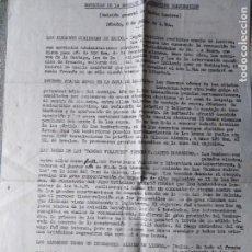 Militaria: II GUERRA MUNDIAL GOEBBELS CONFIESA DERROTA ALEMANA EXODO ATAQUE LEIPZIG 8 DE JULIO DE 1944. Lote 147350330