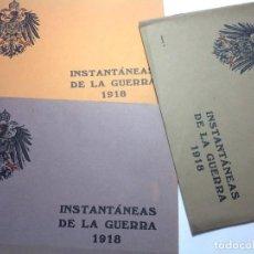 Militaria: 1918 * 96 FOTOGRAFÍAS DE LA 1ª GUERRA MUNDIAL * BANDO ALEMÁN. Lote 147684922