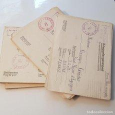 Militaria: 34 CARTAS DE PRISIONEROS DE GUERRA. Lote 147794626