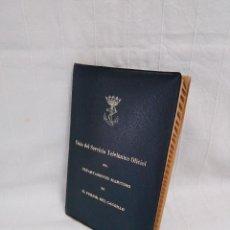 Militaria: GUÍA DEL SERVICIO TELEFÓNICO OFICIAL 1960 - RÉGIMEN FRANQUISTA. Lote 147851330