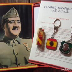 Militaria: FRANCO/LLAVEROS-MECHEROS-LOTERIA/ AÑOS 70-80.. Lote 147888118