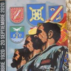 Militaria: DOCUMENTO MILITAR LEGIONARIO. LEGIÓN. ANTICIPO DEL CENTENARIO 1920 2020. 32 PAG. 70 GR. Lote 148242290