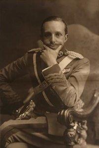 Retrato S. M. El rey don Alfonso XIII 56,5x36,5 cm