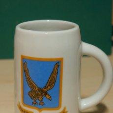 Militaria: JARRA MILITAR DE CERAMICA CUARTEL GENERAL DE LA BRIPAC. BRIGADA PARACAIDISTA. Lote 149436050