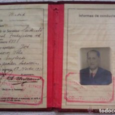 Militaria: CARNET ESTATUTOS DE LA UNION GENERAL DE TRABAJADORES, SINDICATO NACIONAL DE TRABAJADORES AÑO 1936. Lote 149436638