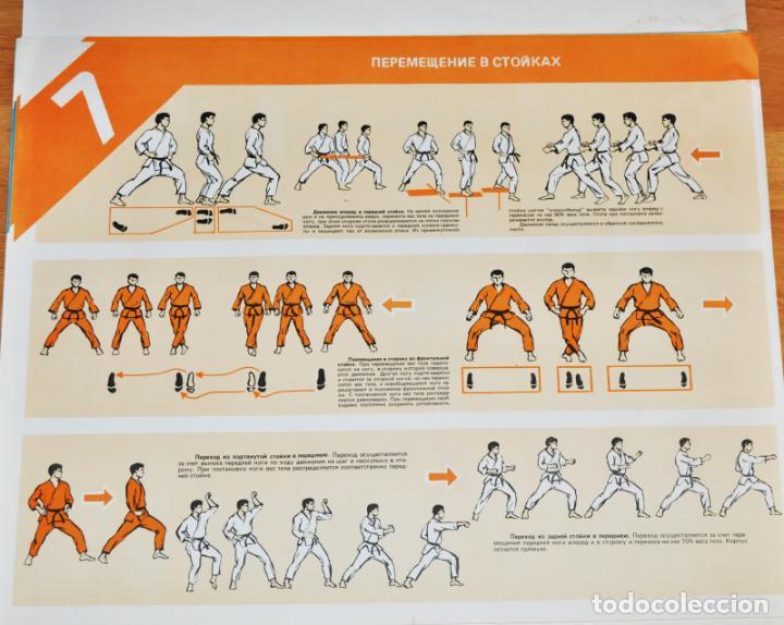 Militaria: Juego de 24 carteles sovieticas.Basico combate mano Moscu 1989 a.URSS - Foto 7 - 149505122