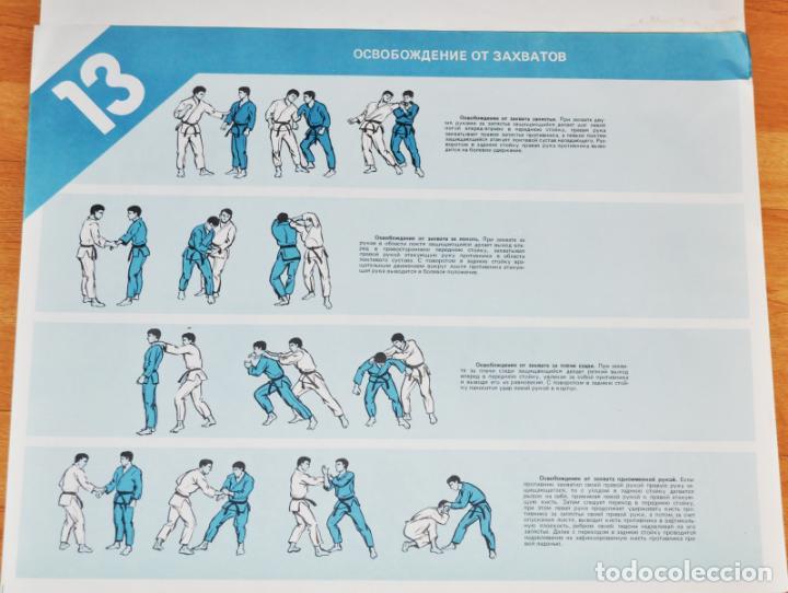 Militaria: Juego de 24 carteles sovieticas.Basico combate mano Moscu 1989 a.URSS - Foto 10 - 149505122
