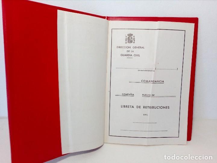 Militaria: LIBRETA DE RETRIBUCIONES DE LA GUARDIA CIVIL (AÑOS 80) - Foto 4 - 151237654
