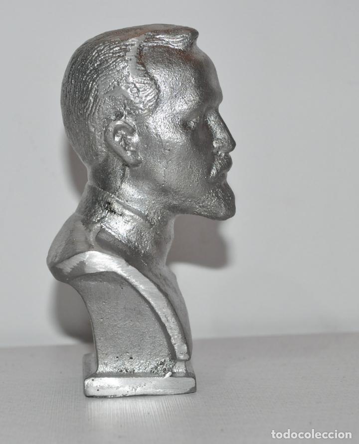 Militaria: Busto Félix Dzerzhinski.Fundador de la policía secreta sovietica KGB .URSS - Foto 2 - 151699814