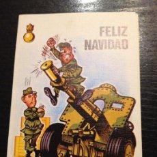 Militaria: ARTILLERIA FELIZ NAVIDAD-CENTRO DE AYUDA A LA ENSEÑANZA 1986. Lote 151891574