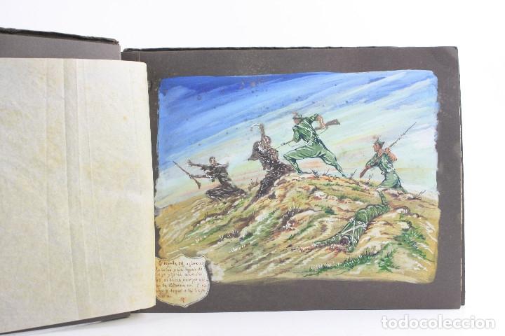 Militaria: Cuaderno de dibujos legionarios, el credo de la legión, 1930s, Melilla. Ver fotos anexas. - Foto 3 - 152155086
