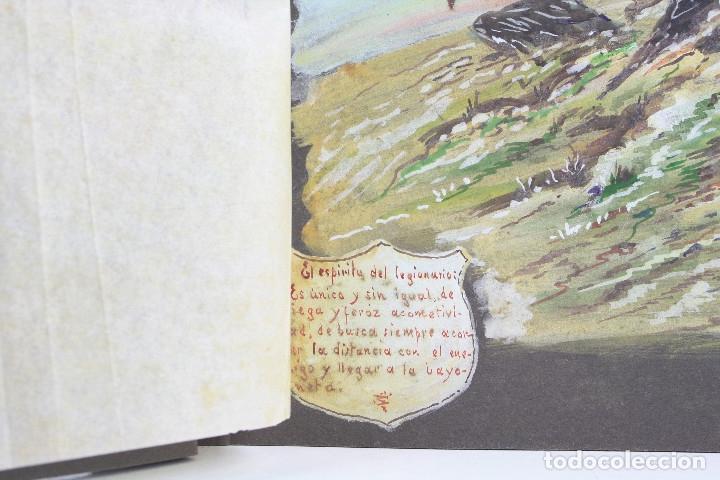 Militaria: Cuaderno de dibujos legionarios, el credo de la legión, 1930s, Melilla. Ver fotos anexas. - Foto 4 - 152155086