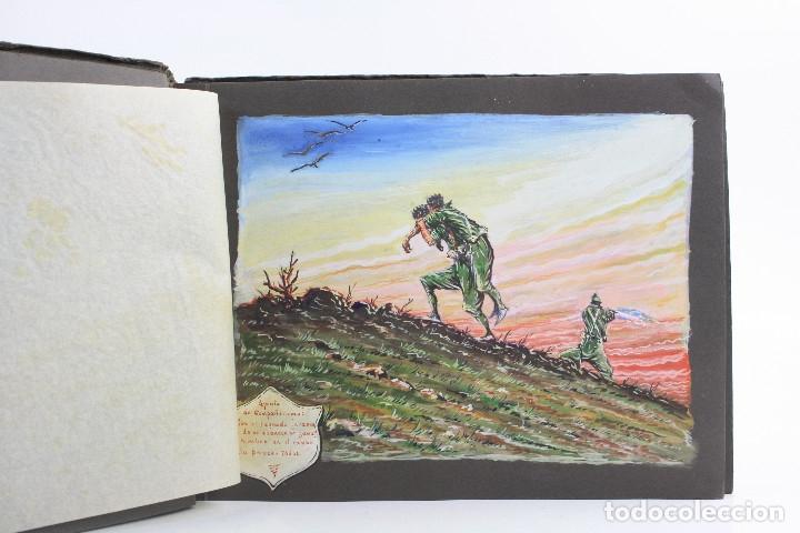 Militaria: Cuaderno de dibujos legionarios, el credo de la legión, 1930s, Melilla. Ver fotos anexas. - Foto 5 - 152155086
