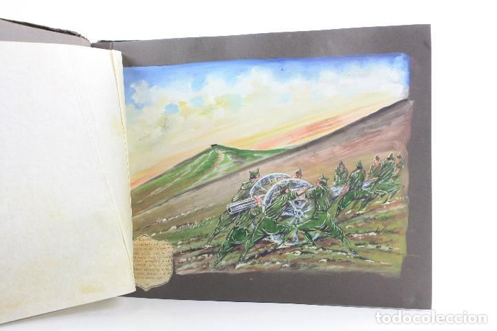 Militaria: Cuaderno de dibujos legionarios, el credo de la legión, 1930s, Melilla. Ver fotos anexas. - Foto 12 - 152155086