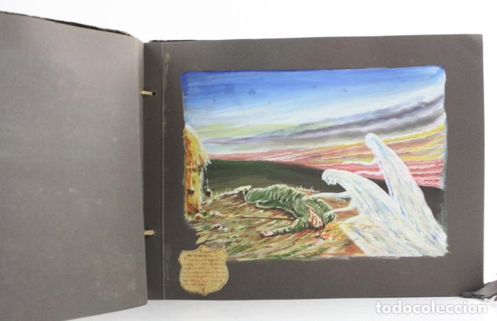 Militaria: Cuaderno de dibujos legionarios, el credo de la legión, 1930s, Melilla. Ver fotos anexas. - Foto 14 - 152155086