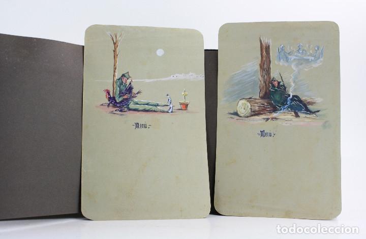 Militaria: Cuaderno de dibujos legionarios, el credo de la legión, 1930s, Melilla. Ver fotos anexas. - Foto 17 - 152155086