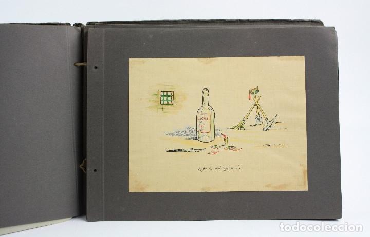 Militaria: Cuaderno de dibujos legionarios, el credo de la legión, 1930s, Melilla. Ver fotos anexas. - Foto 18 - 152155086