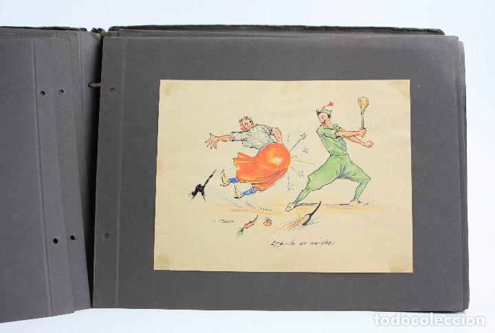 Militaria: Cuaderno de dibujos legionarios, el credo de la legión, 1930s, Melilla. Ver fotos anexas. - Foto 22 - 152155086