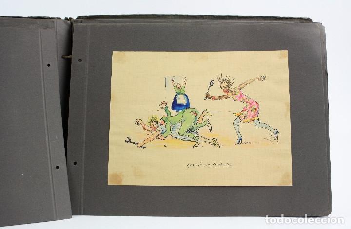 Militaria: Cuaderno de dibujos legionarios, el credo de la legión, 1930s, Melilla. Ver fotos anexas. - Foto 24 - 152155086