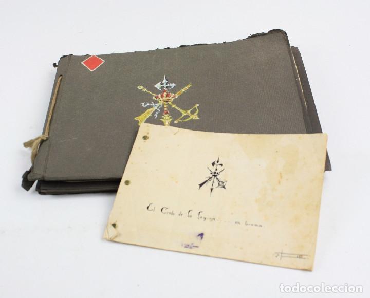 Militaria: Cuaderno de dibujos legionarios, el credo de la legión, 1930s, Melilla. Ver fotos anexas. - Foto 32 - 152155086