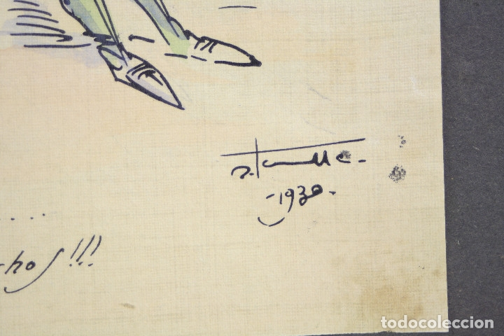 Militaria: Cuaderno de dibujos legionarios, el credo de la legión, 1930s, Melilla. Ver fotos anexas. - Foto 31 - 152155086