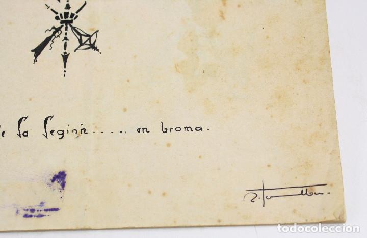 Militaria: Cuaderno de dibujos legionarios, el credo de la legión, 1930s, Melilla. Ver fotos anexas. - Foto 34 - 152155086
