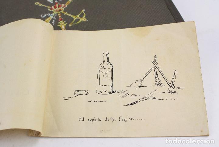 Militaria: Cuaderno de dibujos legionarios, el credo de la legión, 1930s, Melilla. Ver fotos anexas. - Foto 35 - 152155086