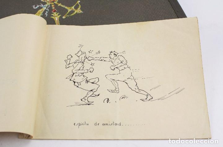 Militaria: Cuaderno de dibujos legionarios, el credo de la legión, 1930s, Melilla. Ver fotos anexas. - Foto 36 - 152155086