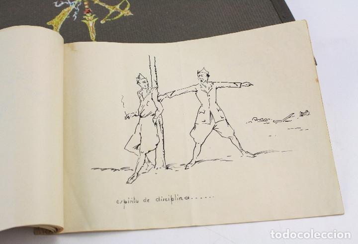 Militaria: Cuaderno de dibujos legionarios, el credo de la legión, 1930s, Melilla. Ver fotos anexas. - Foto 41 - 152155086