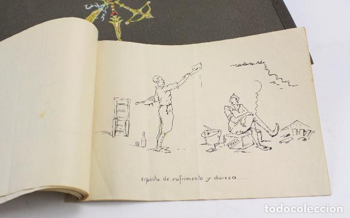 Militaria: Cuaderno de dibujos legionarios, el credo de la legión, 1930s, Melilla. Ver fotos anexas. - Foto 42 - 152155086