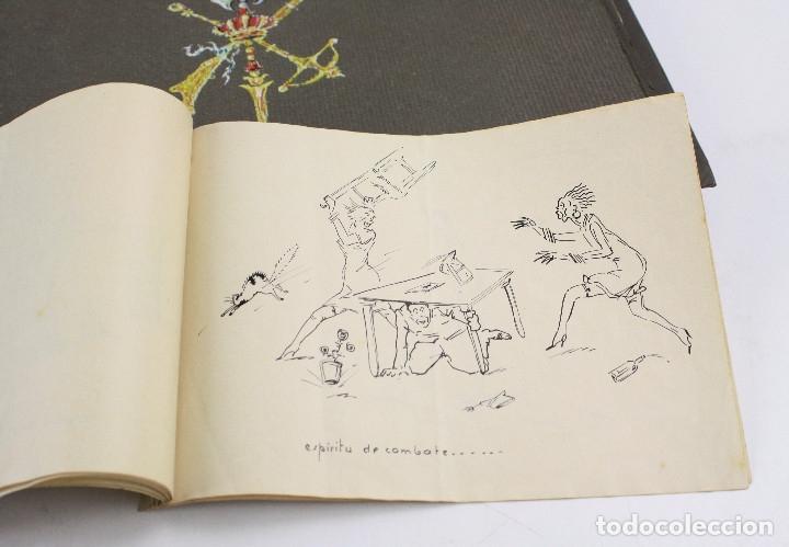 Militaria: Cuaderno de dibujos legionarios, el credo de la legión, 1930s, Melilla. Ver fotos anexas. - Foto 43 - 152155086