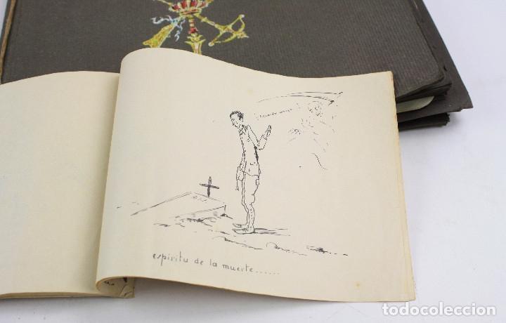 Militaria: Cuaderno de dibujos legionarios, el credo de la legión, 1930s, Melilla. Ver fotos anexas. - Foto 44 - 152155086