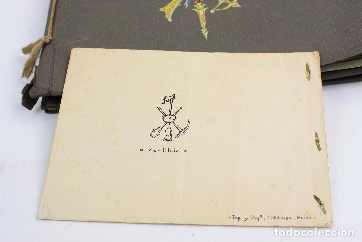Militaria: Cuaderno de dibujos legionarios, el credo de la legión, 1930s, Melilla. Ver fotos anexas. - Foto 46 - 152155086