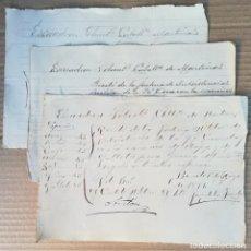 Militaria: 1897 ENTREGA RACIONES DE ETAPA Y MAÍZ FACTORÍA MILITAR LA FÉ (CUBA) ESCUADRÓN VOLUNTARIOS CABALLERÍA. Lote 153578830