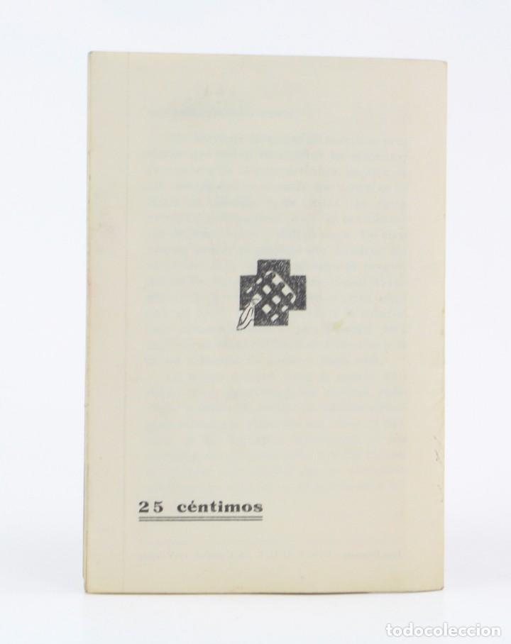 Militaria: Cartilla popular divulgadora sobre los efectos de los gases de guerra, 1937, Guerra Civil, Valencia. - Foto 3 - 153940430