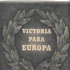 Militaria: DISCURSO DE ADOLF HITLER, EXTRACTO ILUSTRADO DE PROPAGANDA. Lote 154367102