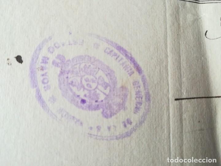 Militaria: 4 DOCUMENTOS 1917 BATALLÓN 2ª RESERVA DE BURGOS Nº 38 ASIGNACIÓN OFICIAL CAUSA SEDICIÓN COACCIÓN - Foto 5 - 154714938