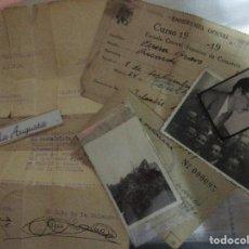 Militaria: CAMARADA FALANGISTA SECION CICLISTA JOYERIA R.PERERA 1939 AÑO VICTORIA FIRMA JEFE FALANGE MADRID. Lote 154832046
