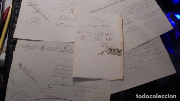 GUERRA DE CUBA , DOCUMENTOS MANUSCRITOS DEL REGIMIENTO DEL REY 1ª COMP. 1ER. BATALLON 5ª COMPAÑIA (Militar - Propaganda y Documentos)