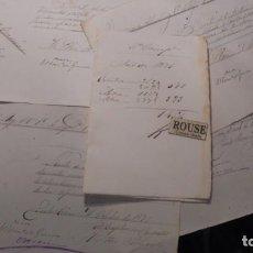 Militaria - GUERRA DE CUBA , DOCUMENTOS MANUSCRITOS DEL REGIMIENTO DEL REY 1ª COMP. 1er. BATALLON 5ª COMPAÑIA - 154927074