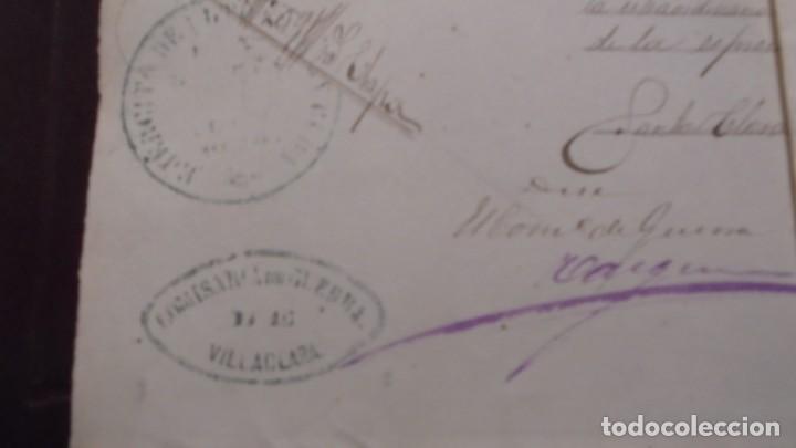 Militaria: GUERRA DE CUBA , DOCUMENTOS MANUSCRITOS DEL REGIMIENTO DEL REY 1ª COMP. 1er. BATALLON 5ª COMPAÑIA - Foto 2 - 154927074