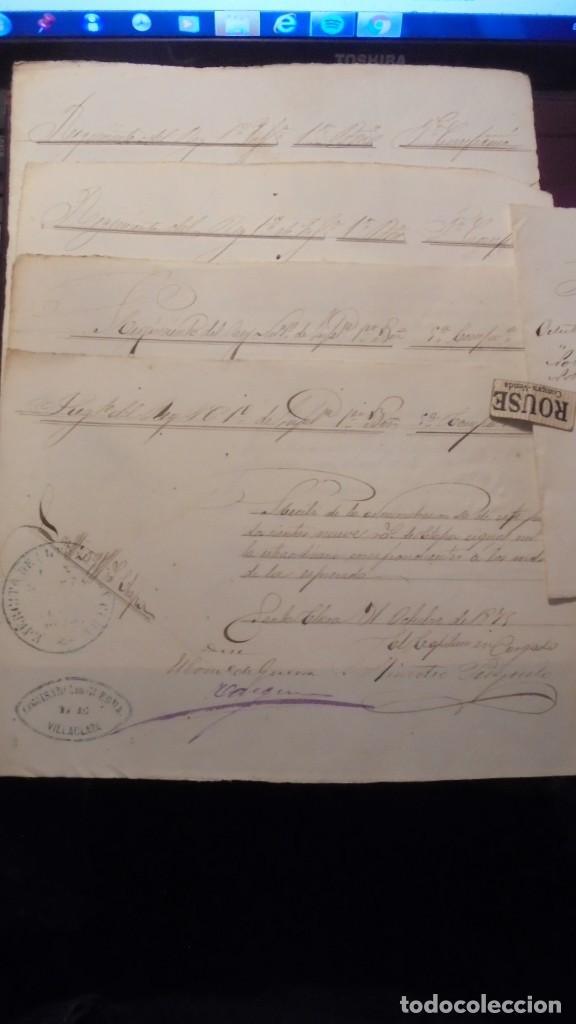 Militaria: GUERRA DE CUBA , DOCUMENTOS MANUSCRITOS DEL REGIMIENTO DEL REY 1ª COMP. 1er. BATALLON 5ª COMPAÑIA - Foto 3 - 154927074