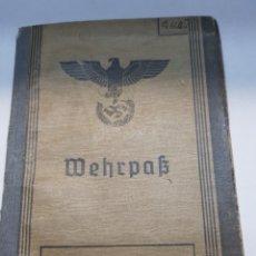 Militaria: PASAPORTE NAZI ORIGINAL. Lote 157827501