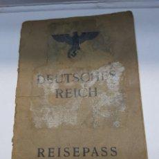Militaria: PASAPORTE NAZI TOTALMENTE ORIGINAL. Lote 157827624